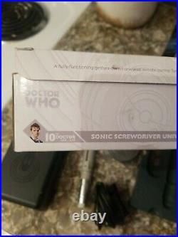 10th DR WHO SONIC SCREWDRIVER UNIVERSAL REMOTE CONTROL 2012 BOX WAND CO DOCTOR