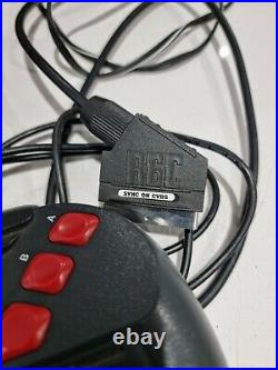 Atari Jaguar boxed with 2x controllers and Cybermorph