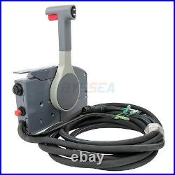 Boat Remote Control Box for Yamaha Outboard 10 Pin PUSH Throttle 703-48205