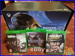 Boxed Xbox Series X 1TB Console 1x Controller wires 3x Games