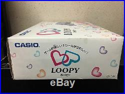 Casio Loopy Console set Japan with 1 game 1 controller & cables boxed set