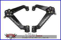 Cognito Motorsports Upper Control Arm Kit Boxed Ball Joint 01-10 GM 8 lug HD