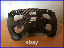 Fanatec Clubsport Formula Carbon Boxed, Good Condition, Cleaned Grips