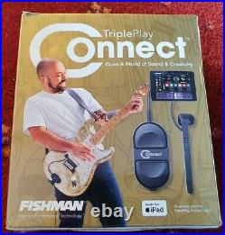 Fishman TriplePlay Connect MIDI Guitar Controller with all leads, Boxed