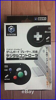 Hori Gamecube Digital Controller Pad Black Boxed Tested&working Excellent