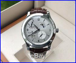 Jaeger LeCoultre Master Control 8 Day Watch -Day/Night -S/Steel- Box/Papers