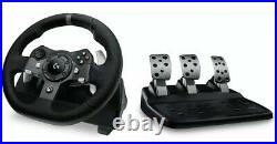 Logitech G920 Driving Force Racing Wheel Microsoft Xbox One & PC NEW BOXED