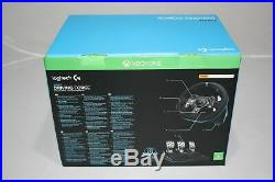 Logitech G920 Xbox PC Steering Wheel + Pedals + Shifter Bundle Retail Boxed