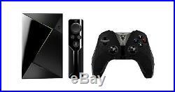 NEW NVIDIA SHIELD TV Console 16GB 2017 Android Gaming TV Box +Controller +Remote