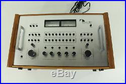 Nakamichi 610 Control Preamplifier Mixer Control Center with Wood Box