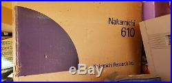 Nakamichi 610 Stereo Control Preamplifier Preamp with Original Box Exct