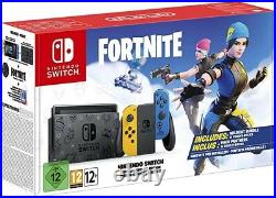 Nintendo Switch FORTNITE Console BOXED BRAND NEW 2021 + DOCK + CONTROLLER GIFT