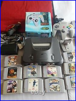 Nintendo n64 & 28 Games Huge Bundle No Boxes Carts Only 2 Controllers/transfer
