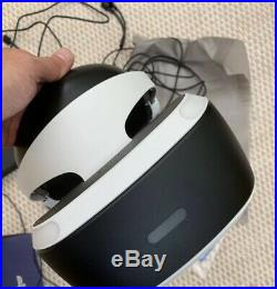 PS4 PSVR Headset Bundle (Version 2) Sony PlayStation With Two VR Games