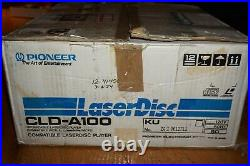 Pioneer Laseractive CLD-A100 Sega CD Genesis Complete in Box with 2 Controllers