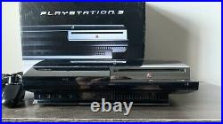PlayStation 3 60GB Backwards Compatible PS3 CECHA01 Console w Box, 2 Controllers