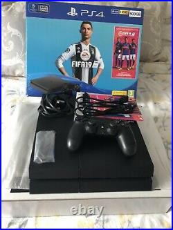 Sony Playstation 4 PS4 500gb Console (Boxed) Bundle with Controller & Games