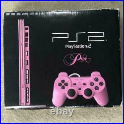 Sony Playstation2 Pink Limited Color withMain Box Controller