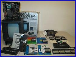 VectrexConsole, 2 Color Wheels, Games, Screens, 3D Imager, 2 control panels, box
