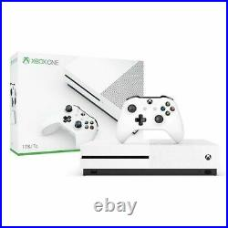 Xbox One S 1TB Console With Orginal Box, Controller, HDMI, Power Adapter White