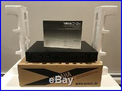 YAMAHA C-2X Preamp Control Amplifier SERVICED MINT WithBOX, MANUAL, MULTI VOLTAGE
